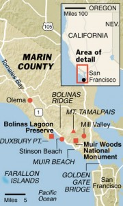Marin County (map)