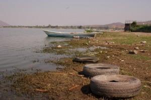 Autoband waaronder een volwassen vrouw (77cm) was gevonden in mei 2008